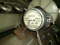 Kostkarka - Silnik do pojemnika na wod�