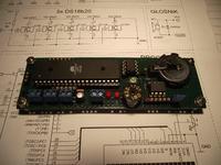 Zegar + alarm + imieniny + 5x DS18b20