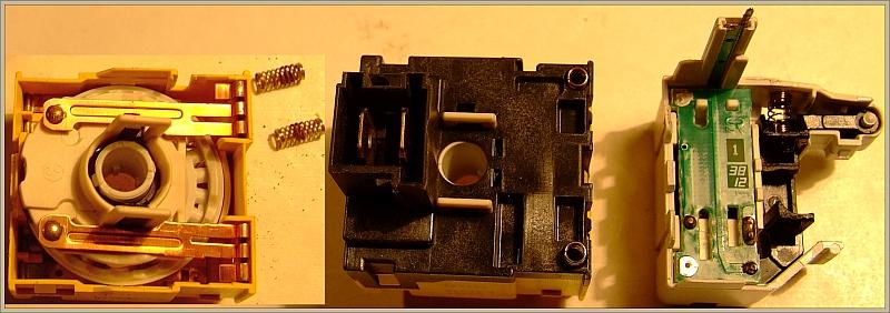 Pralka Polar PTL1109-uszkodzony przełącznik Rold o symbolu RZE 19062