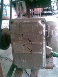 Silnik jednofazowy załączany na dwa razy