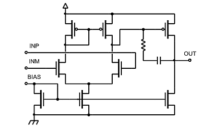 buffer amplifier low voltage to higher voltage