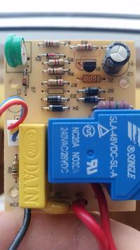 Programator czasowy. Uszkodzona dioda Zenera.