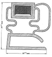 Bosch kgv3105/06 - Wymina uszczelki drzwi