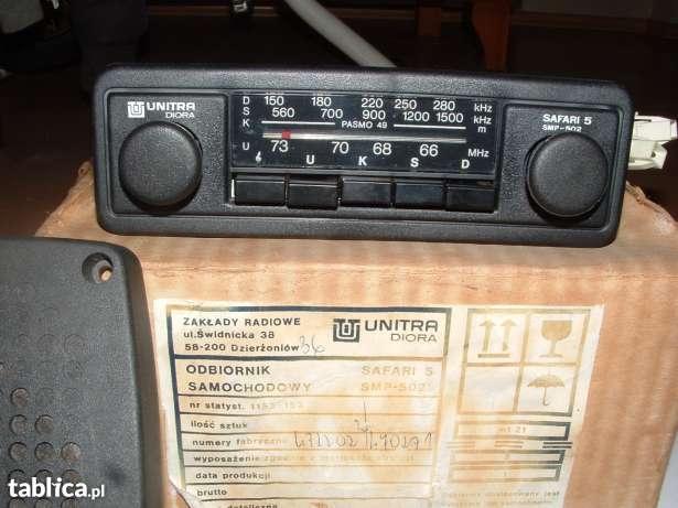 [Sprzedam] Radio JVC DVD divx LCD oraz Kolekcjnerskie Radio Safari 5 NOWE