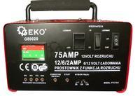 Ładowanie akumulatora prostownikiem Bass-Poland PTC 75-B