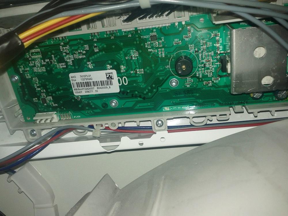 Pralka Electrolux EWS 126510W - nie uruchamia si� program