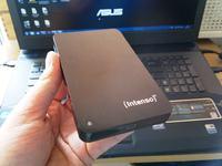 Intenso 1TB - Dysk USB zew. Nie dzia�a. Jest partycja RAW. Windows chce format.