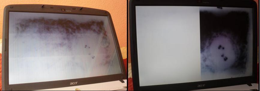 Acer 5720ZG dziwny obraz. Uszkodzona grafika. Jaki laptop kupi�?