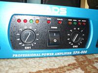 [Sprzedam] Tanio Ko�c�wka mocy ADS SPA 800 - 2x 1350 Watt - Gwarancja jak nowa !