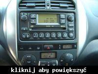 Toyota Rav4 II - Wymiana orginalnego radia