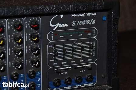 Gran 100u/2 - pod�aczenie mikrofonu i laptopa