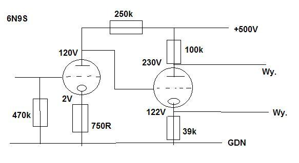 Wzmacniacz na 6N13S - zadzia�a w takiej konfiguracji ?