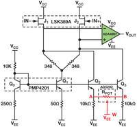 Wskazówki jak dodać do dyskretnego wzmacniacza wejście z tranzystorem FET