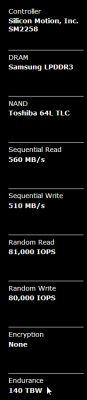 Asus K70IO - Dysk SSD do Asusa K70I0