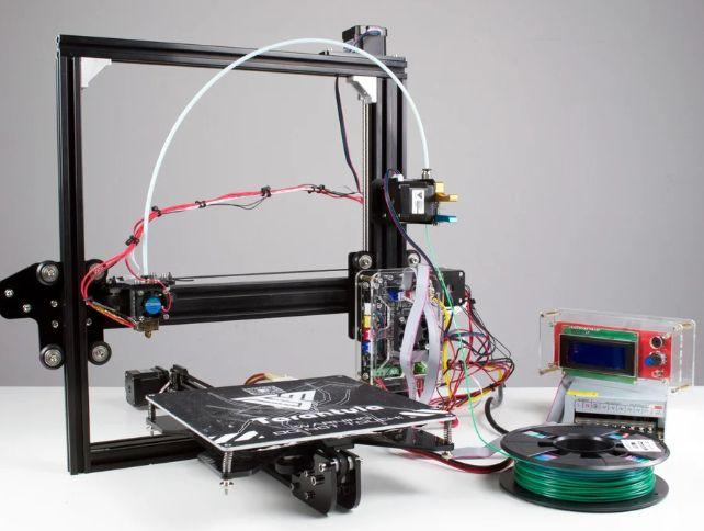 Zacinający sie filament, polecenie porządnego extrudera