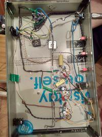 Wzmacniacz lampowy Firefly Rev 3 - buczenie i zakłócenia