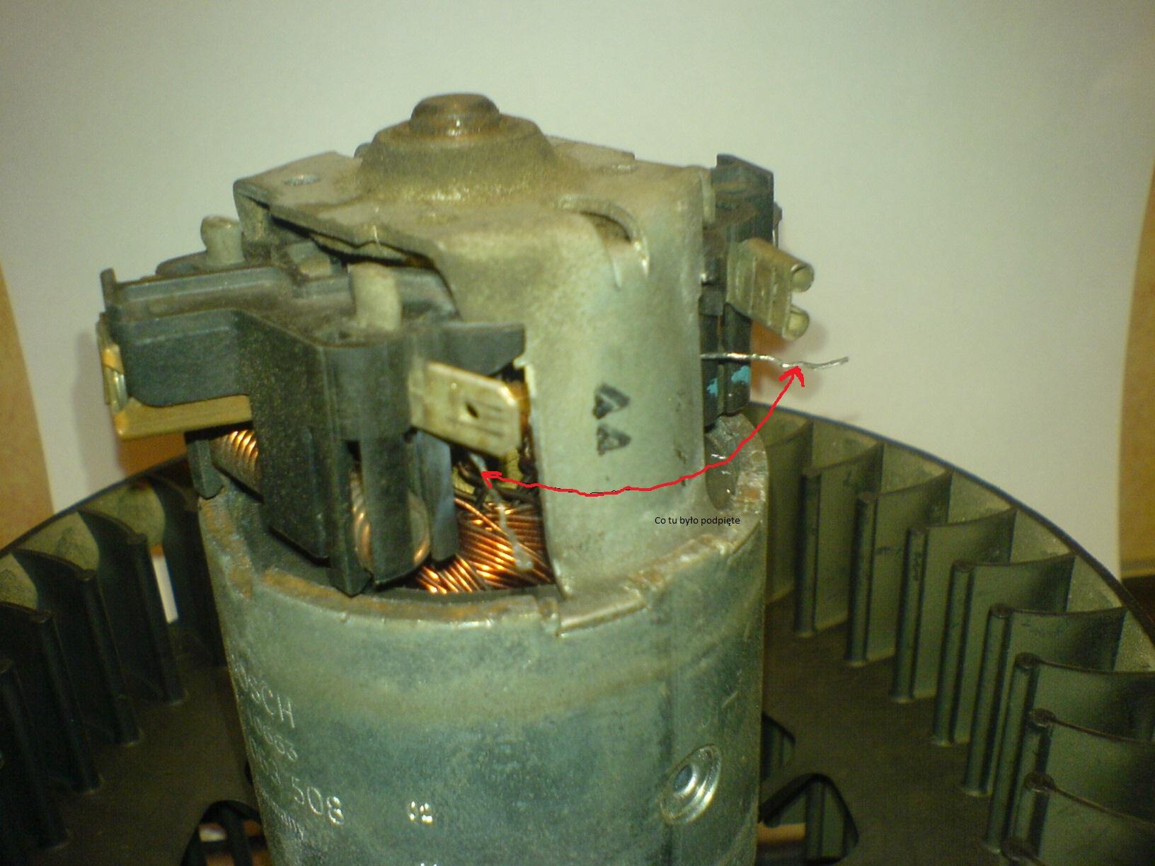 mercedes w202 - wentylator nawiewu, co� si� spali�o