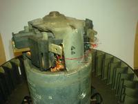 mercedes w202 - wentylator nawiewu, coś się spaliło