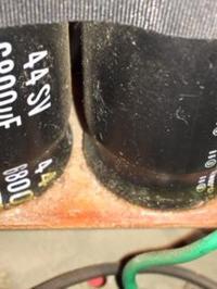 ELNA 6800uF jaki kondensator? - ELNA 6800uF 44SV CEW 85 stC 86U