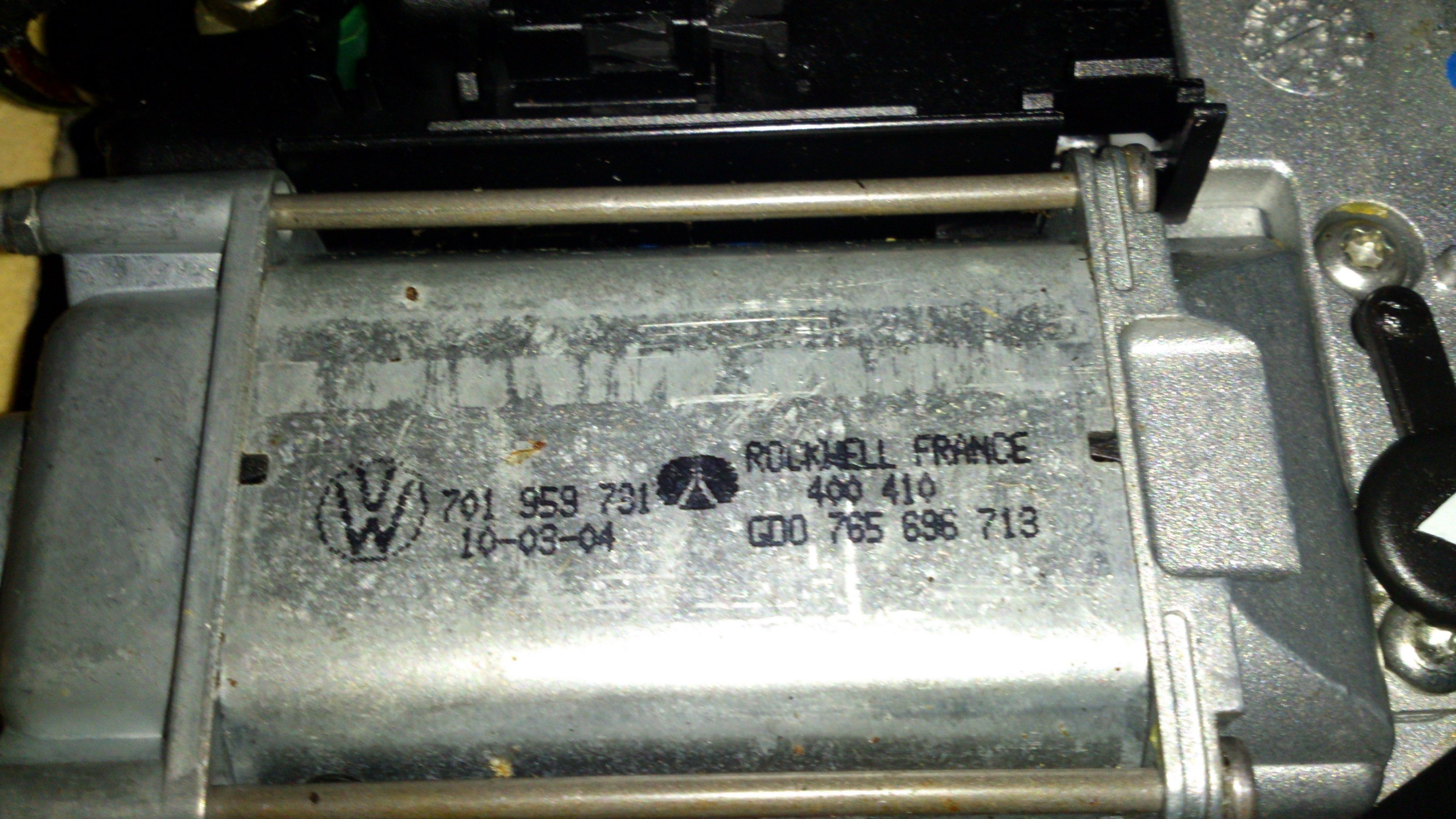 Schemat instalacji szyberdachu VW T4 Multivan 94r. 2.5E Nie raguje