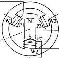 3-fazowy silnik od drukarki laserowej