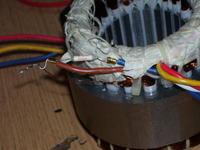Silnik indukcyjny od klimatyzatora