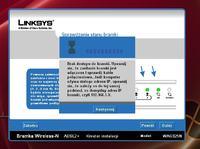Błąd podczas instalacji LINKSYS WAG325N
