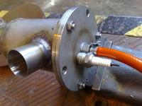 Silnik turbinowy na bazie turbosprężarki