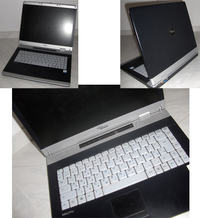 Fujitsu-Siemens Amilo Pro v2030 - ciemność po włączeniu