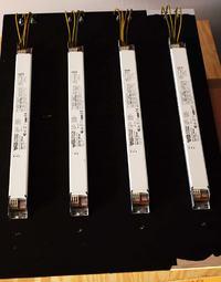 Połączenie czterech stateczników elektroniczych