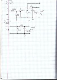 Generator sygnałów piłokształtnych (trójkątnych) z BC547.