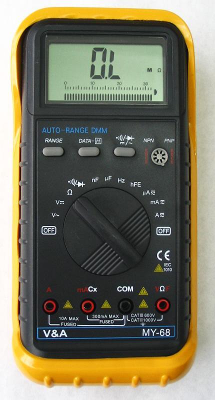Multimetr Mastech MY 68, który podróbka a który oryginał?