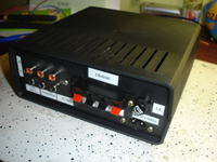 Wzmacniacz audio z wejściem gramofonowym