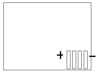 Bateria Motorola BC50 - pinout
