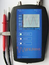 Rejestrator napięć na ARM + dotykowy LCD. Diagnostyka