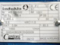 Silnik 5,5kW 1450 Cantoni Indukta