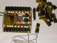 sterownik GSM II - reseter (restarter) laptopów w serwerowni
