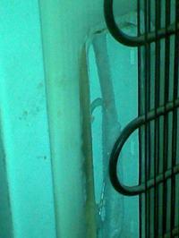 Amica ak260 - ciepło w chłodziarce, zamrażarka ok, lód pod zaślepką z tyłu
