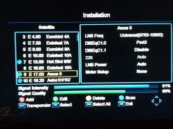 GT Media V7Plus - Ustawienia tunera GT Media V7Plus z monoblokiem twin.