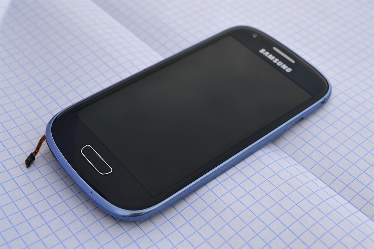 [Sprzedam] Samsung Galaxy S3 mini - przedni modu�