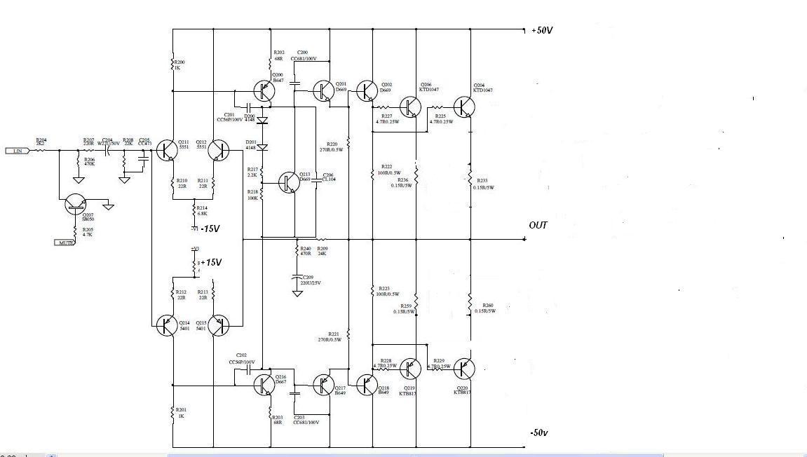 Ko�c�wka mocy budowa 200W/4ohm