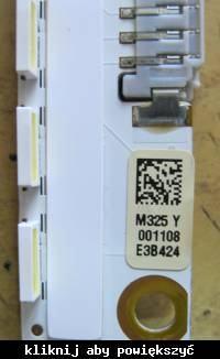 Samsung UE32ES6100 - Pali diody w podświetleniu.