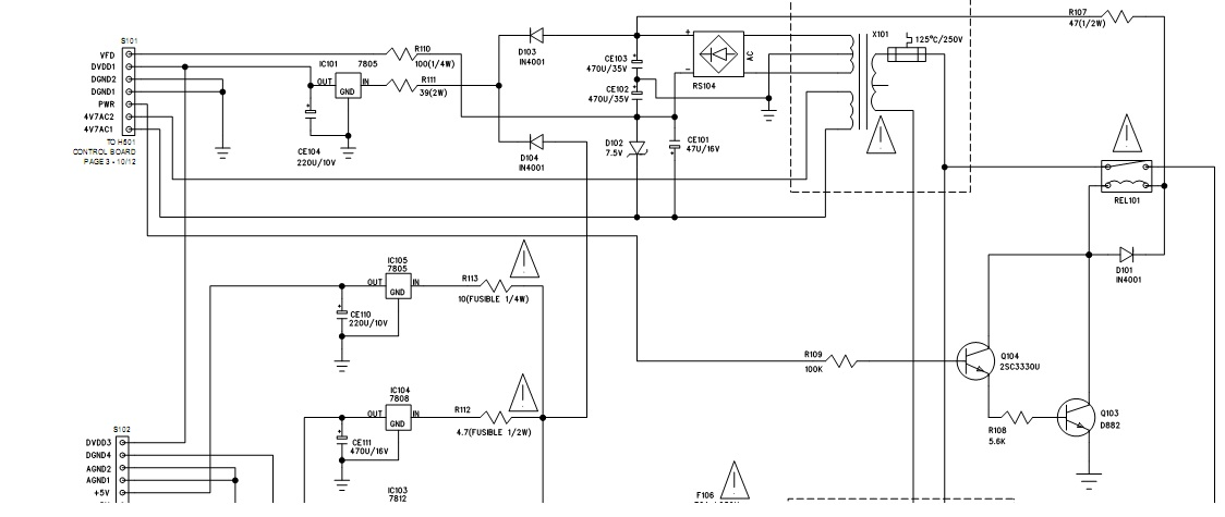 Wie�a grundig m29-c - transformator