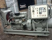 Spalanie agregatu pr�dotw�rczego na silniku Leyland sw400