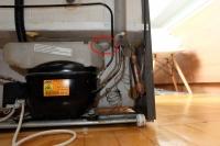 Electrolux ERB 3645X - Słabo chłodzi, widoczny bąbel lodowy