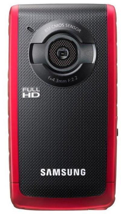 Wodoodporny aparat Samsung HMX-W200 nagrywaj�cy filmy w Full HD