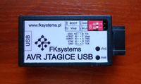 AVR JTAGICE USB - poszukuję sterowników do programatora JTAG firmy FKsystems
