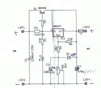 Prostownik na tranzystorze BD250C