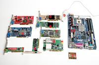 [Sprzedam] Części Komputerowe: Płyty gł, Procesory, Karty Graf, Czytnik kodów kr