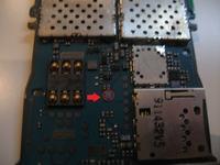 Nokia 6300 - nie dzia�a mikrofon, p�yta g��wna inna ni� na schemacie (hungary)
